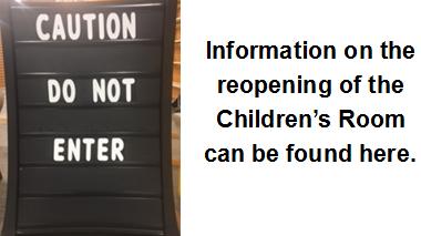 Children's Room Reopening