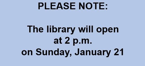 Delayed Opening 012118